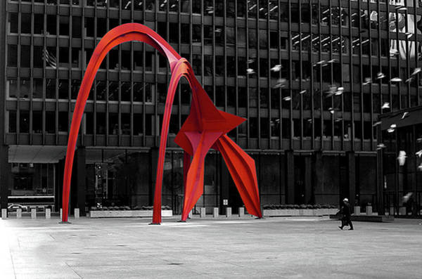 Photograph - Daley Plaza by Eric Wiles