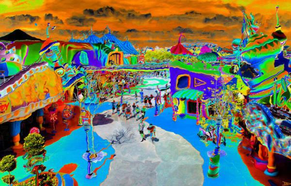 Salvador Dali Painting - Dali Land by David Lee Thompson