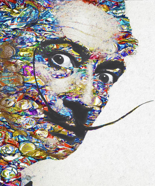 Mixed Media - Dali by Tony Rubino