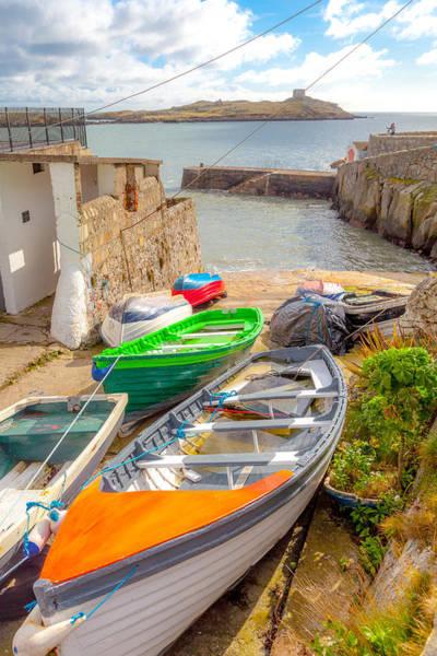 County Dublin Photograph - Dalkey Harbor Color by W Chris Fooshee
