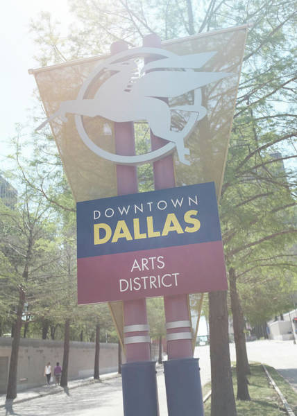 Dallas Arts District Art Print
