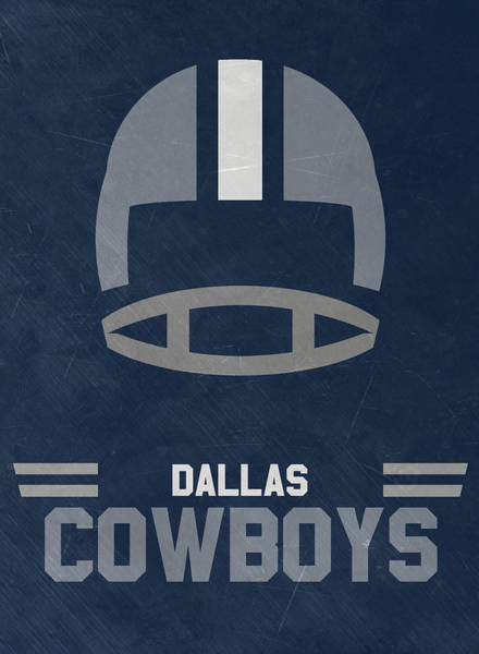 Super Bowl Mixed Media - Dallas Cowboys Vintage Art by Joe Hamilton