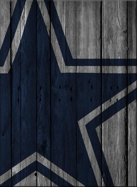 Cleat Photograph - Dallas Cowboys Wood Fence by Joe Hamilton