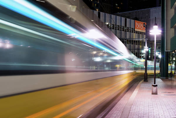 Photograph - Dallas Dart Motion 012618 by Rospotte Photography