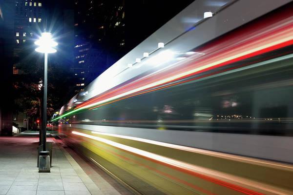 Dallas Dart Train 012518 Art Print