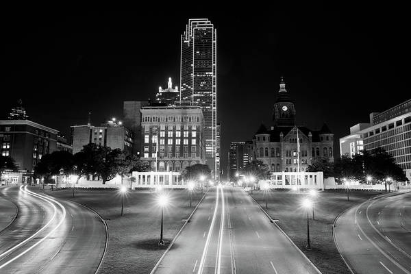 Photograph - Dallas Dealey Plaza 11317 by Rospotte Photography