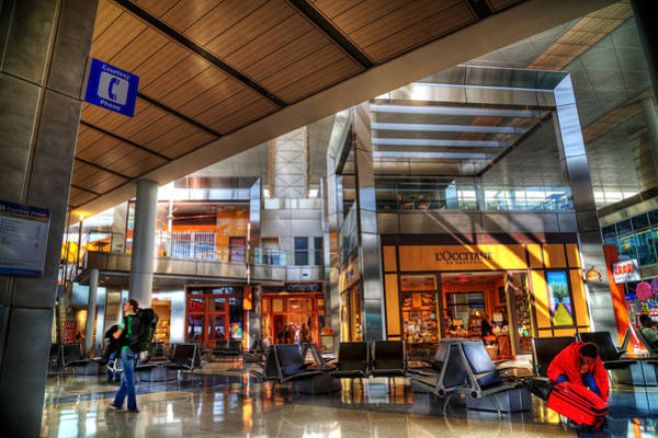 Fort Worth Photograph - Dallas Fort Worth Airport  by Marcel Kaiser