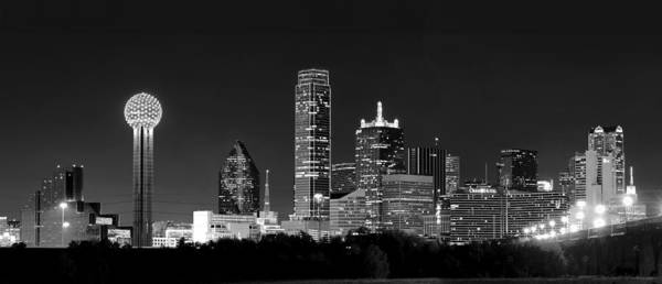 Photograph - Dallas In Monochrome by Rospotte Photography