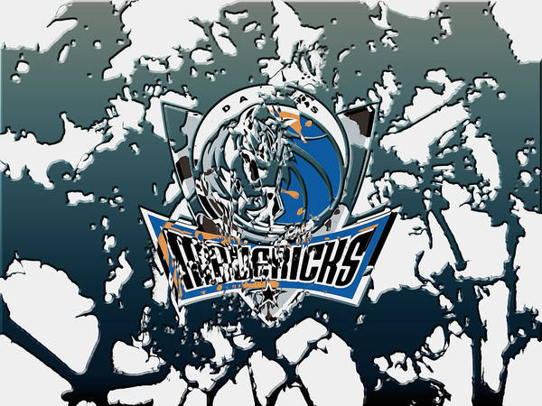 Mavericks Mixed Media - Dallas Mavericks 1c by Brian Reaves