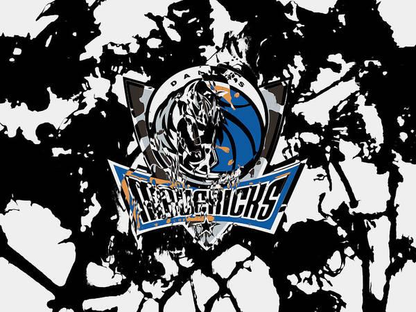 Mavericks Mixed Media - Dallas Mavericks 1d by Brian Reaves