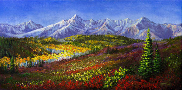 Painting - Dallas Pass by Chris Steele