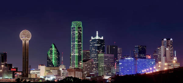Photograph - Dallas Skyline 012918 by Rospotte Photography