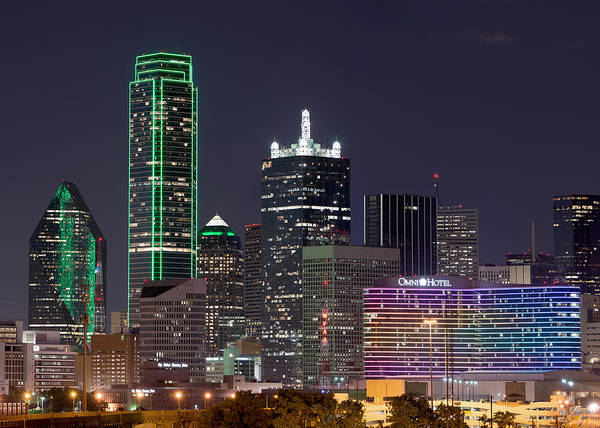 Photograph - Dallas Skyline 040915 by Rospotte Photography