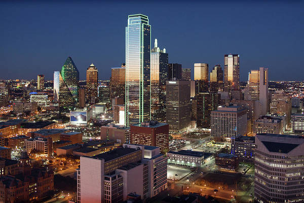 Photograph - Dallas Skyline 050218 by Rospotte Photography