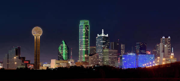 Photograph - Dallas Skyline 071316 by Rospotte Photography