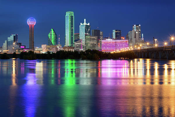 Photograph - Dallas Skyline 112217 by Rospotte Photography