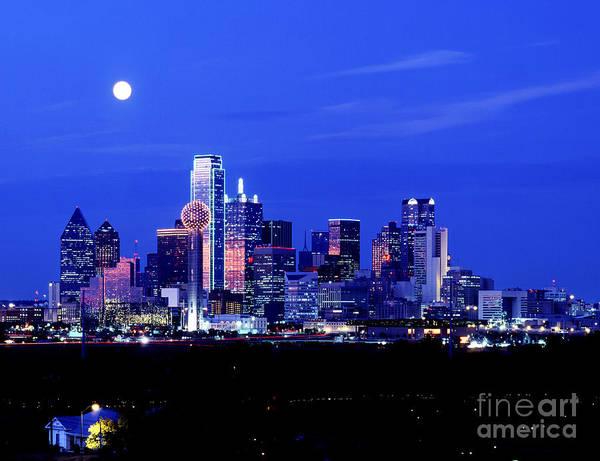 Photograph - Dallas Skyline by Carolyn Brown