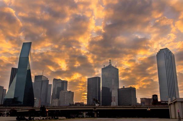 Wall Art - Photograph - Dallas Skyline by Drew Castelhano