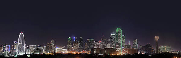 Photograph - Dallas Skyline Pano 051818 by Rospotte Photography