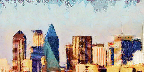 Photograph - Dallas Texas Skyline 20180516 Plate 2 Of 3 by Wingsdomain Art and Photography