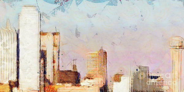 Photograph - Dallas Texas Skyline 20180516 Plate 3 Of 3 by Wingsdomain Art and Photography