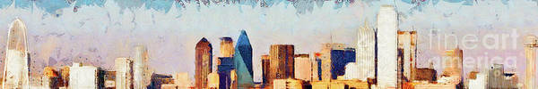 Photograph - Dallas Texas Skyline 20180516 by Wingsdomain Art and Photography