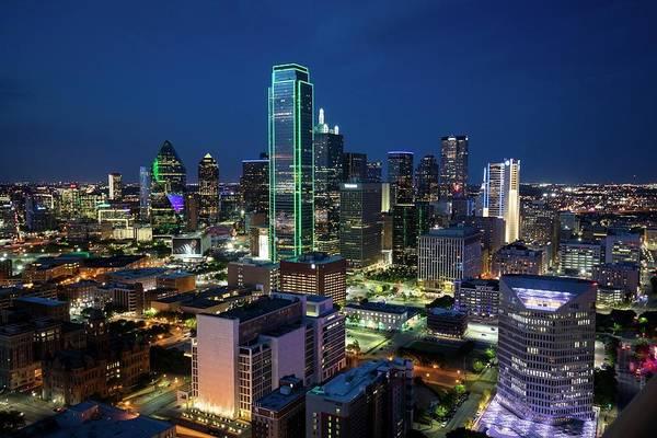 Photograph - Dallas Vista  by Harriet Feagin