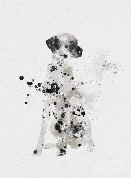 Canine Mixed Media - Dalmatian by My Inspiration