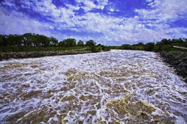 Photograph - Dam River by Anna Louise