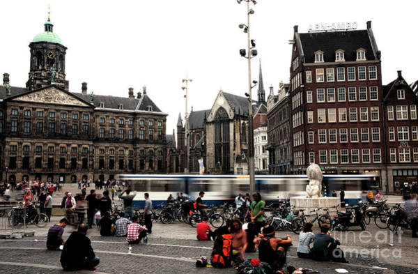 Wall Art - Photograph - Dam Square Days by John Rizzuto