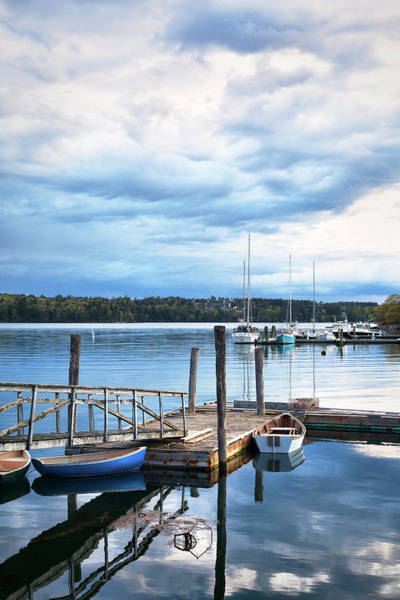 Wall Art - Photograph - Damariscotta River Maine by Eric Gendron