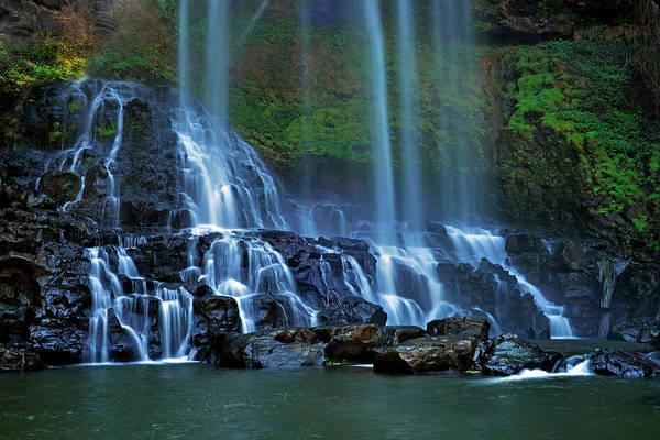 Photograph - Dambri Waterfall by Tran Minh Quan