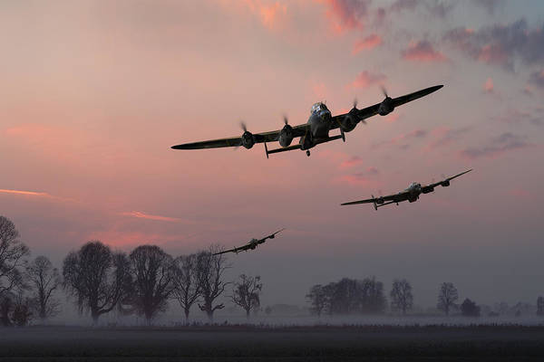 Photograph - Dambusters Departing by Gary Eason
