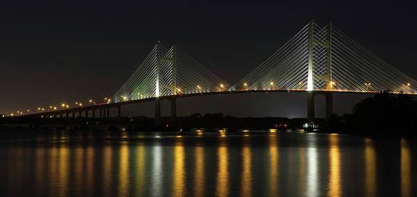 Wall Art - Photograph - Dames Point Bridge by Art Cole
