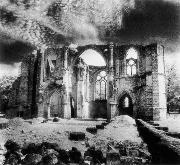 Dim Photograph - Dammarie Les Lys Abbey by Simon Marsden