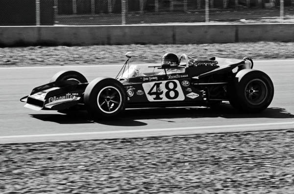 Photograph - Dan Gurney For The Win by Frank DiMarco