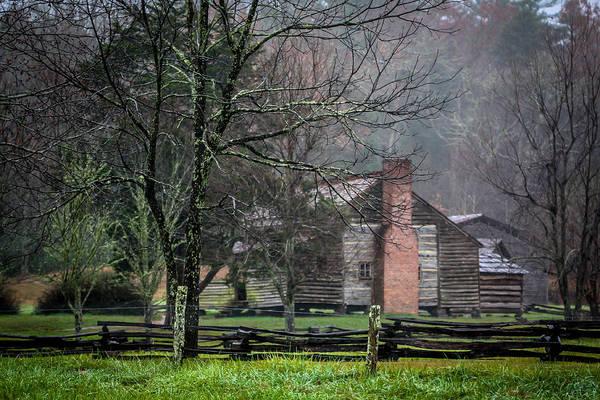 Photograph - Dan Lawson's Cabin by Susie Weaver