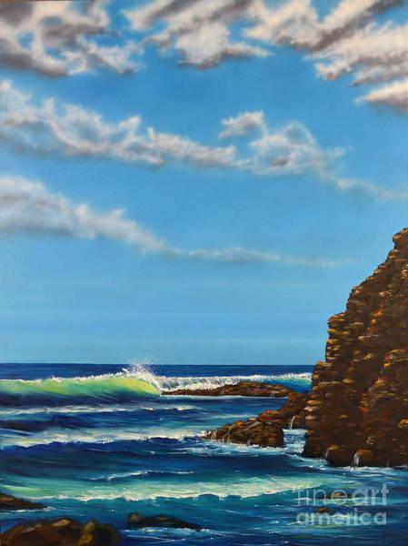 Painting - Dana Point Walk by Mary Scott