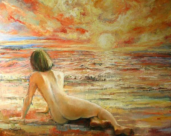 Painting - Danae by Tigran Ghulyan