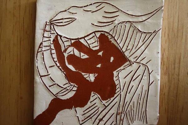 Ceramic Art - Dance - Tile by Gloria Ssali
