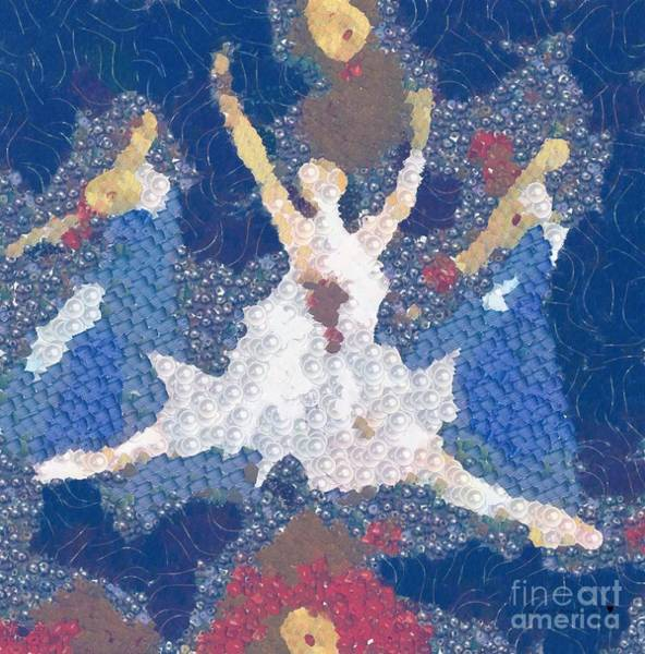 Painting - Dance Abstract In The Mix by Catherine Lott