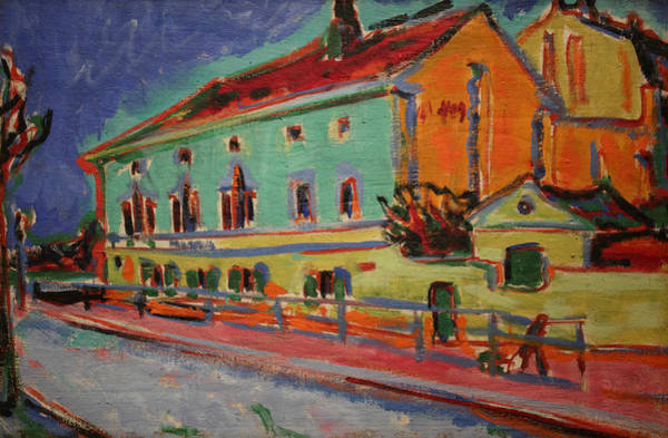 Painting - Dance Hall Bellevue by Ernst Ludwig Kirchner