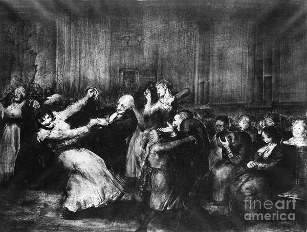 Painting - Dance In A Madhouse by Granger