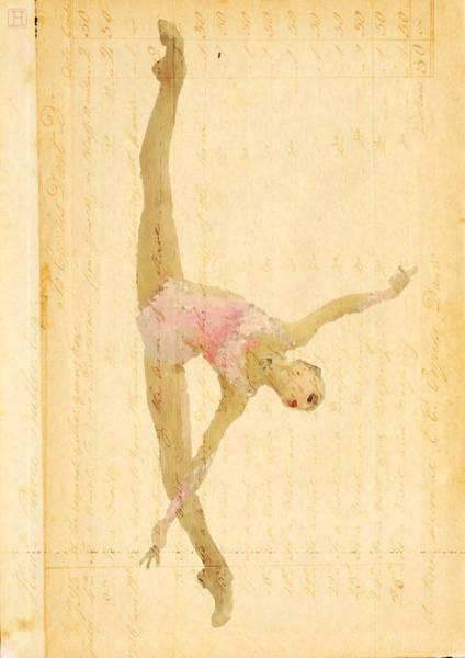 Wall Art - Digital Art - Dance Letters by H James Hoff