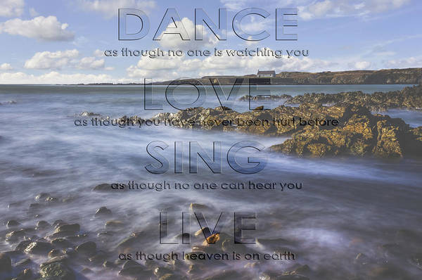 Photograph - Dance Love Sing Live by Ian Mitchell