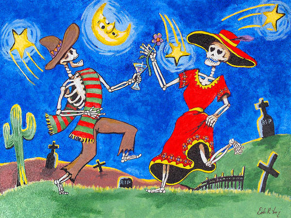 Painting - Dance Of The Dead by Dale Loos Jr