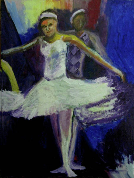 Wall Art - Painting - Dance Rehersal by James Gallagher