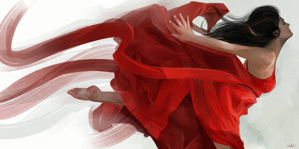 Painting - Dance by Steve Goad
