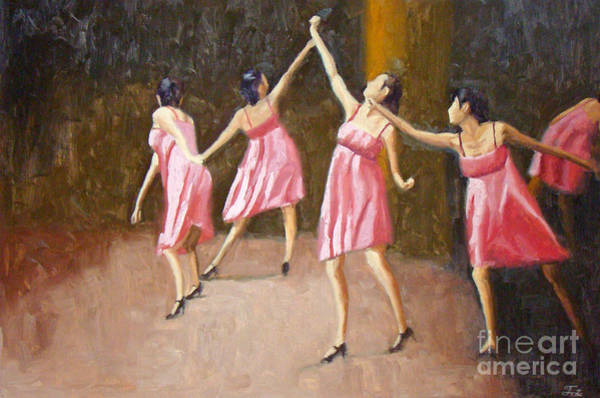 Wall Art - Painting - Dance by Tate Hamilton