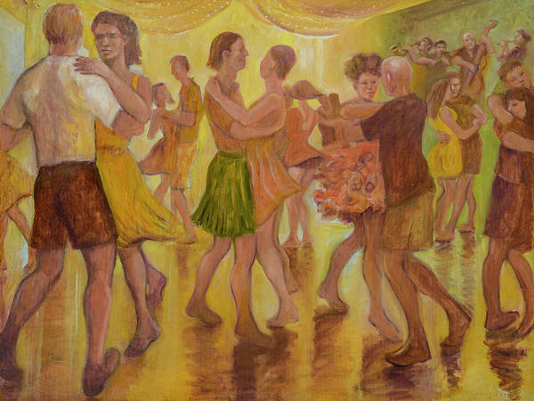 Painting - Dance Trance by Laura Lee Cundiff